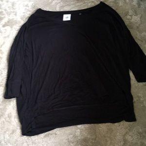 CAbi | black basic 3/4 tee Medium